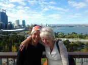 With Lou at Kings Park Perth