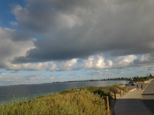 Clouds over the Indian Ocean