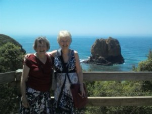 Lorna and Me at Airey's Point, Victoria