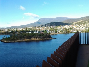 Mt Mt Wellington from MONA