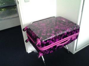 My new suitcase