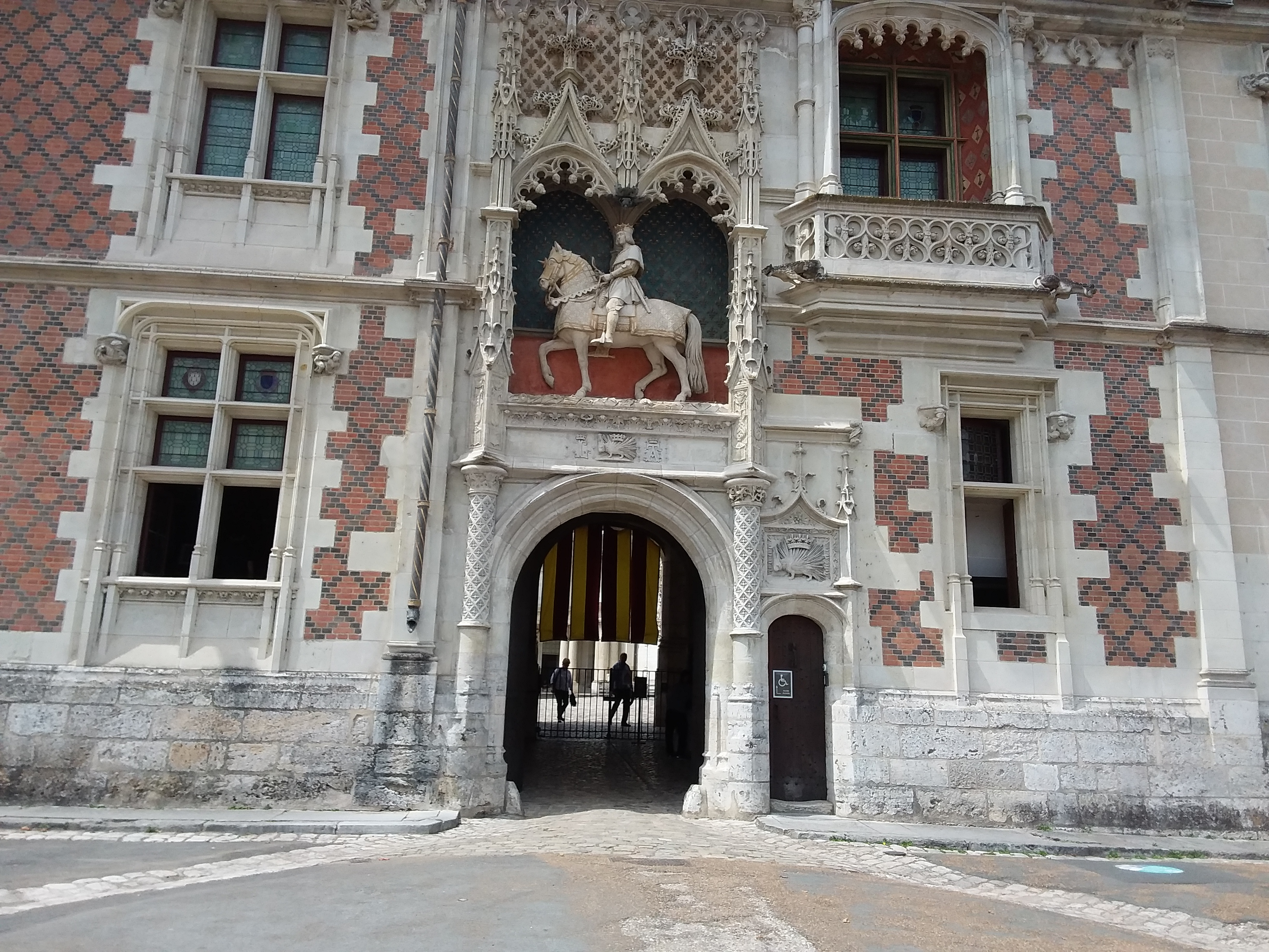 Jeanne Du0027Arc Ledt Her Mark Here When Received The Blessing Of Her Troops By  The Archbishop Of Rheims Before Setting Off To Fight The English